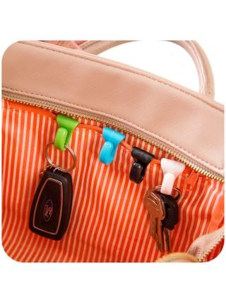 Подвесные крючки для ключей в сумку (2 шт)