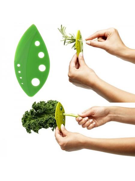 Стриппер для отделения стебелька зелени от листьев