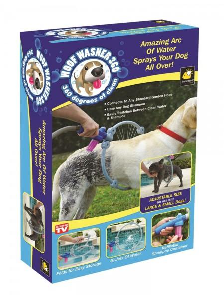 Насадка-обруч Woof Washer для удобного мытья собак