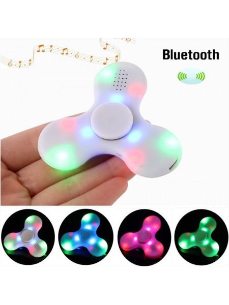 Светящийся спиннер с Bluetooth динамиком