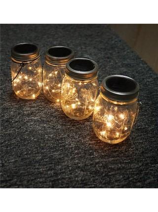Проволочная LED лампа для садового декора