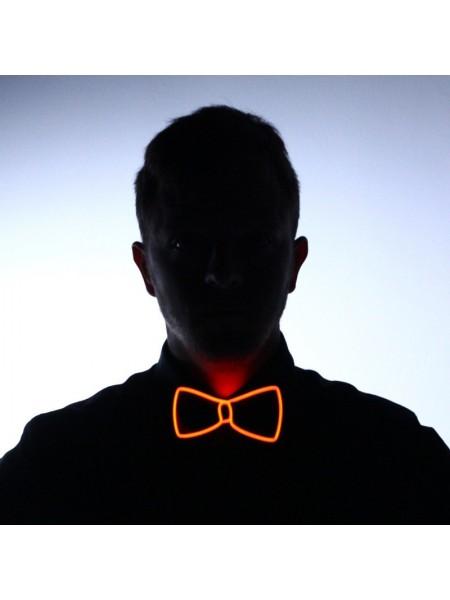 Светящаяся LED бабочка для смокинга