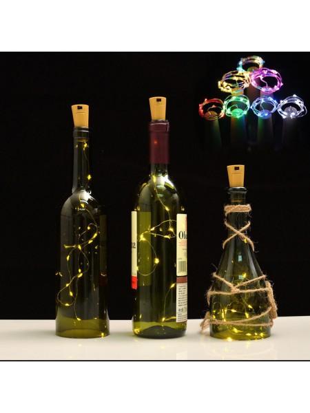 Светодиодное LED украшение для стеклянных бутылок