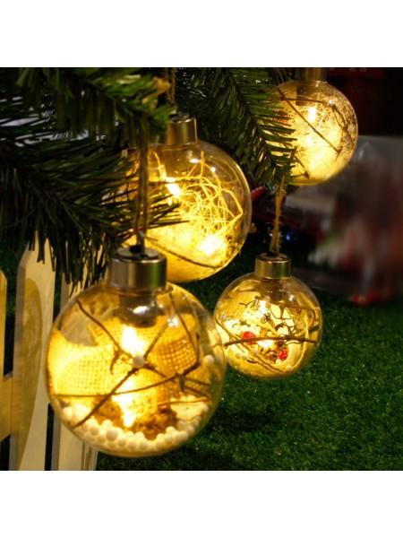 Рождественская елочная LED игрушка