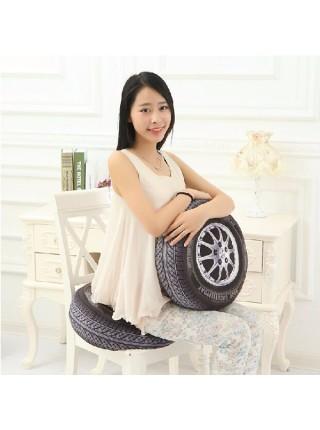 Творческая 3D подушка в форме автомобильного колеса