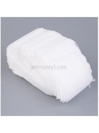 Пустые фильтры пакетики для заварки чая (100 шт.)