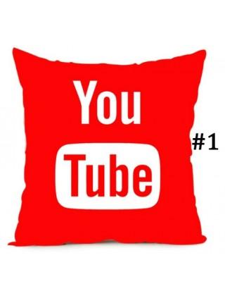 Наволочки на подушку YouTube