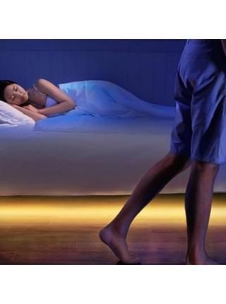 Светодиодная лента с датчиком движения для подсветки кровати