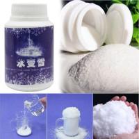 Баночка с волшебным искусственным снегом