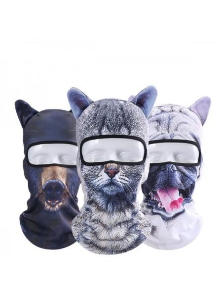 Маска для лица 3D животные