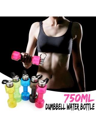 Бутылка для воды в форме гантели (750 мл)