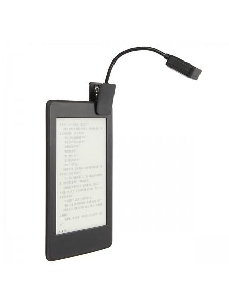 Светодиодная лампа для чтения книг на прищепке