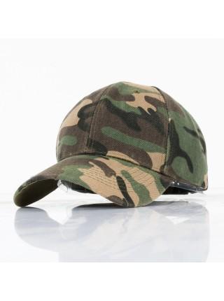 Мужская камуфляжная кепка бейсболка