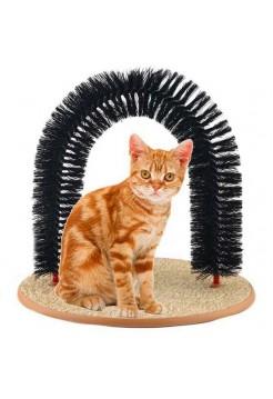 Закругленная щетка-чесалка для кошек
