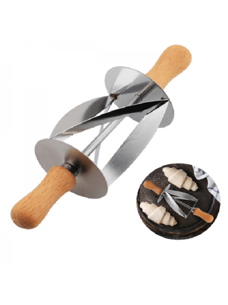 Скалка нож для приготовления круассанов