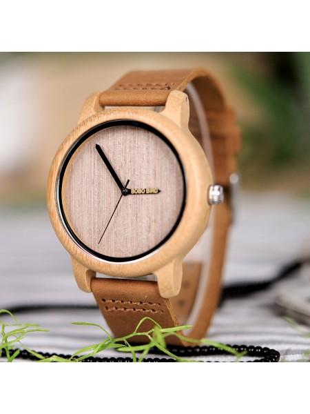 Наручные деревянные часы BOBO BIRD