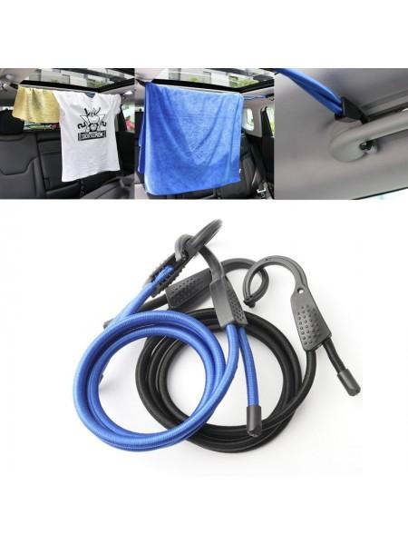 Резинка для крепления багажа с крючком
