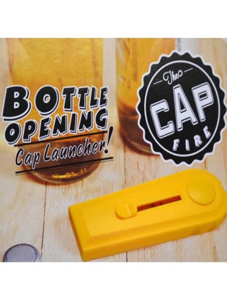 Открывалка для бутылок стреляющая крышками
