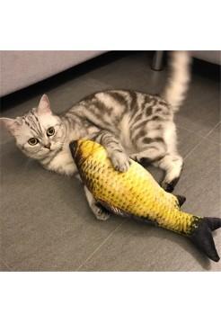 Игрушка для кошки плюшевая рыбка