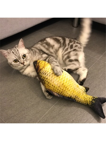 Игрушка для кошки «плюшевая рыбка»