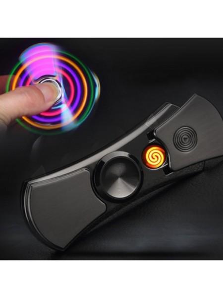 Спиннер с USB зажигалкой