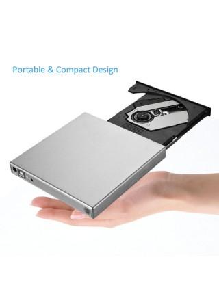 Внешний CD/DVD привод USB 2.0 для ноутбука
