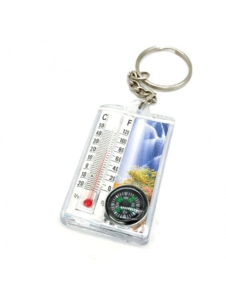Брелок для ключей с термометром