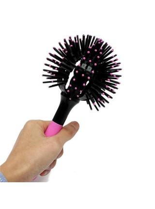3D расческа Bomb Curl Brush для укладки волос