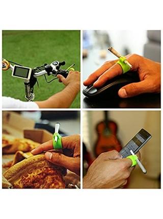 Силиконовый держатель кольцо для сигареты