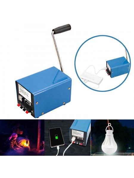 Многофункциональный ручной генератор для аварийного питания