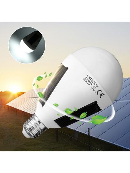 Светодиодная лампа на солнечной батареи для кемпинга