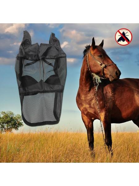 Маска для лошади от насекомых и мух