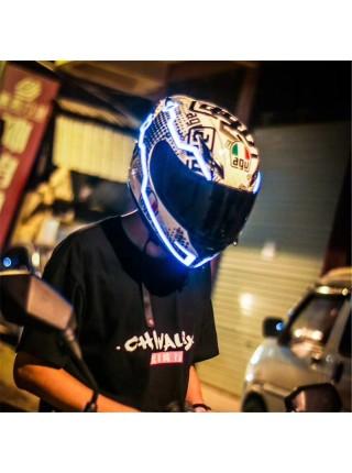 Светодиодная лента для шлема