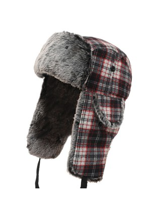 Теплая зимняя шапка ушанка