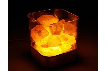 Светильник лампа из гималайской соли