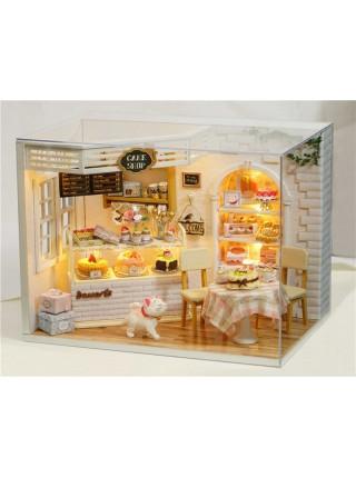 Кукольный DIY набор «магазин пирожных»