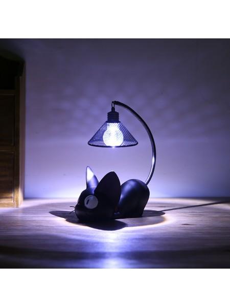 Милый настольный светильник «Кот зизи»