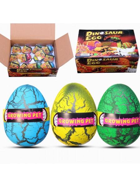 Огромные яйца с растущим в воде динозавром (12 шт.)