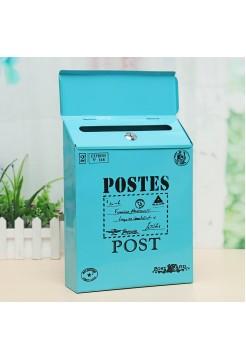 Настенный почтовый ящик с ключами