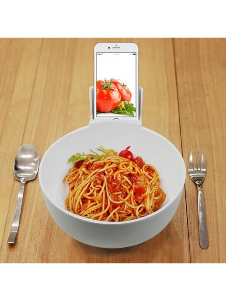 Тарелка для мисо-супа с подставкой для iPhone