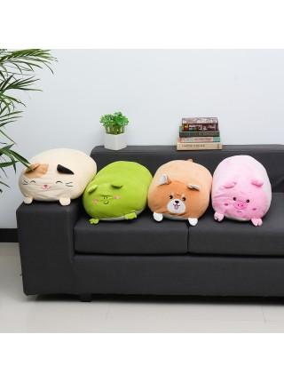 Пухлые милые плюшевые игрушки-подушки в виде животных (60 см)