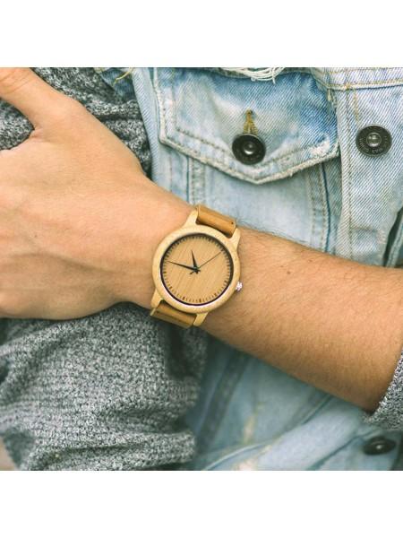 Наручные деревянные бамбуковые часы для мужчин