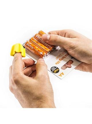 Керамический мини нож с режущим лезвием на палец