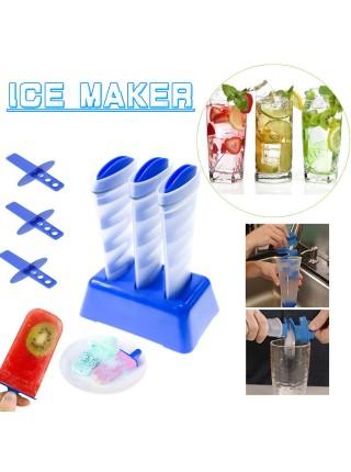 Форма для приготовления фруктового мороженого эскимо Ice Maker
