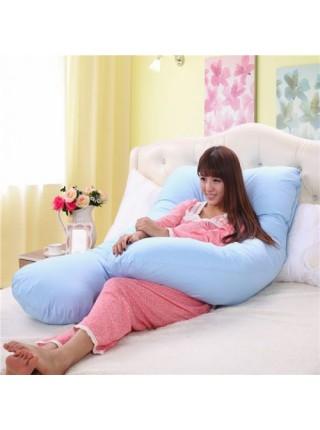 U-образная подушка для беременных и кормящих мам (135 см)