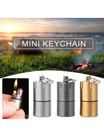 Миниатюрная бензиновая зажигалка - брелок