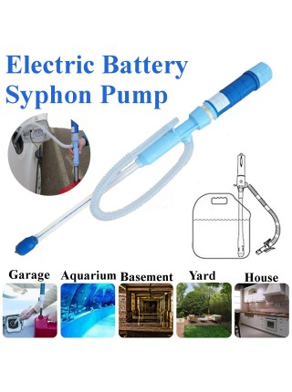 Портативный электрический сифонный насос для перекачки воды и топлива