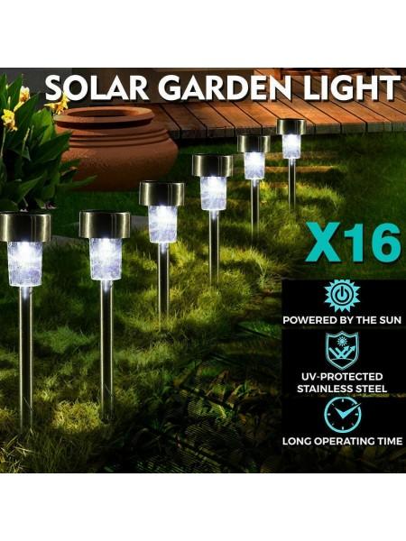 Садовые солнечные LED-фонари (16 шт.)
