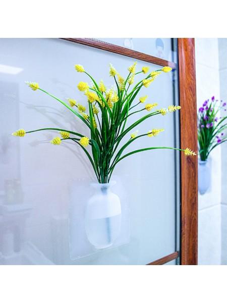 Силиконовая настенная ваза для цветов