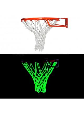 Баскетбольная люминесцентная сетка светящаяся в темноте